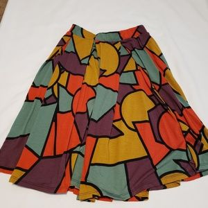 Lularoe multicolored skirt